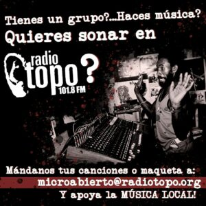 ¿Quieres sonar en Radio Topo?